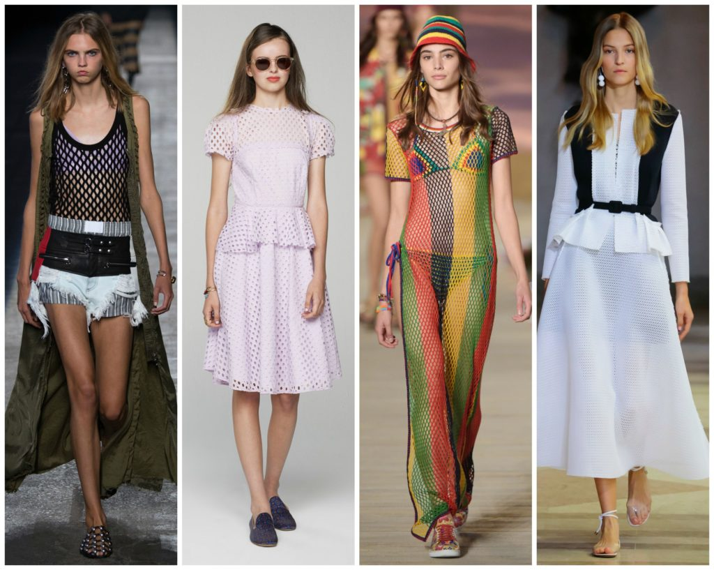Mesh  trends at NYFW SS16