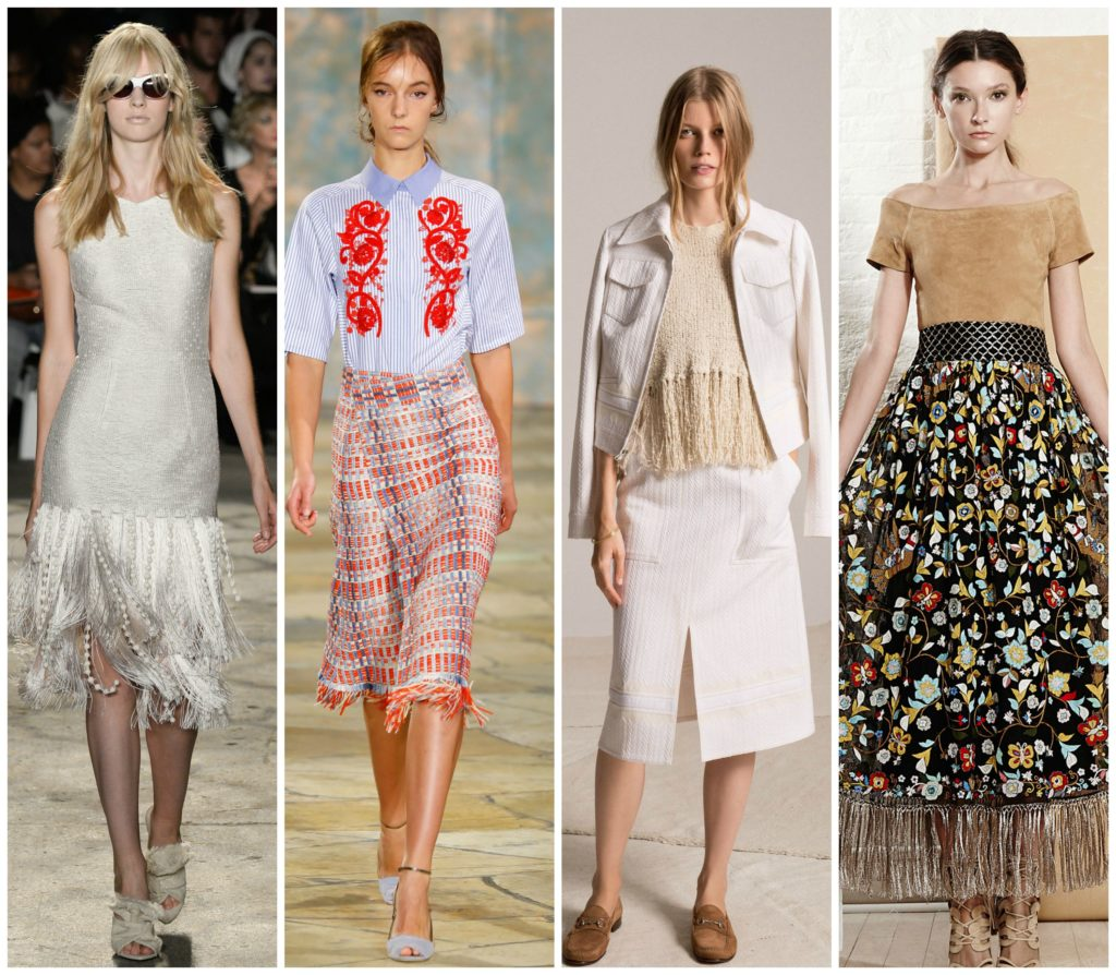 fringe  trends at NYFW SS16