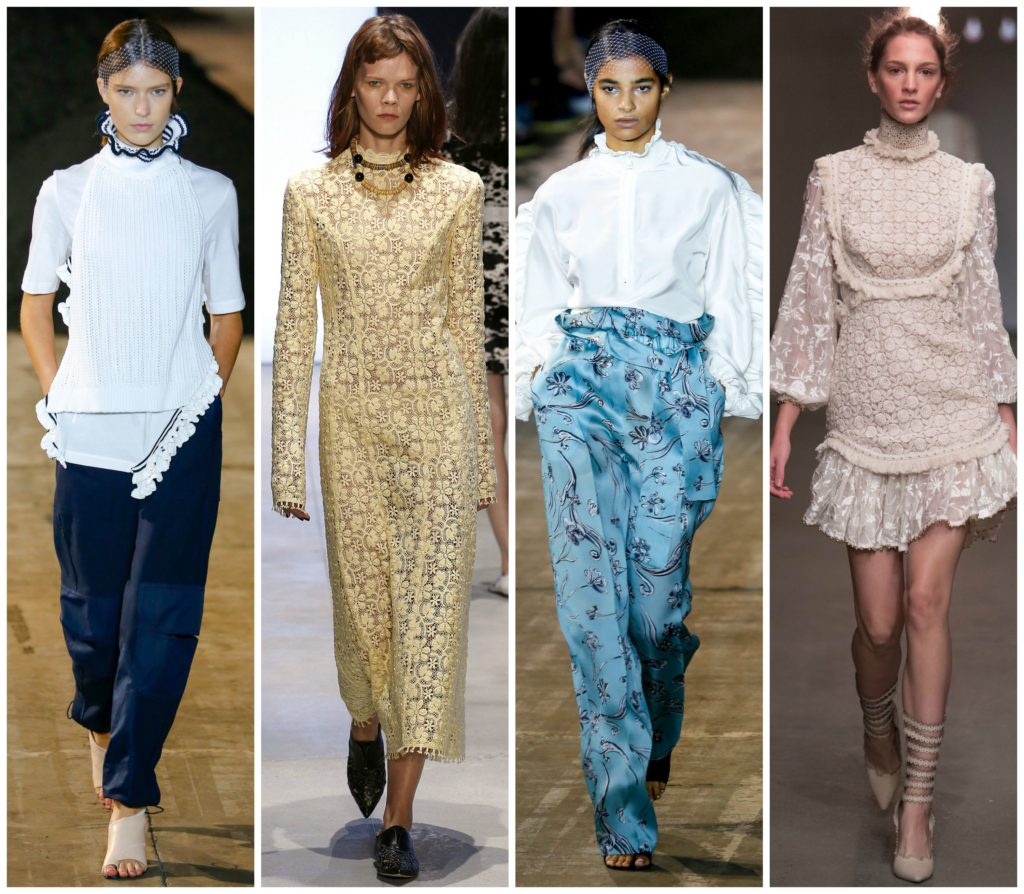 ruffled collars  trends at NYFW SS16