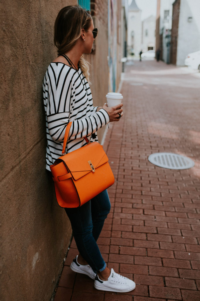 Orange Henri Bendel Bag