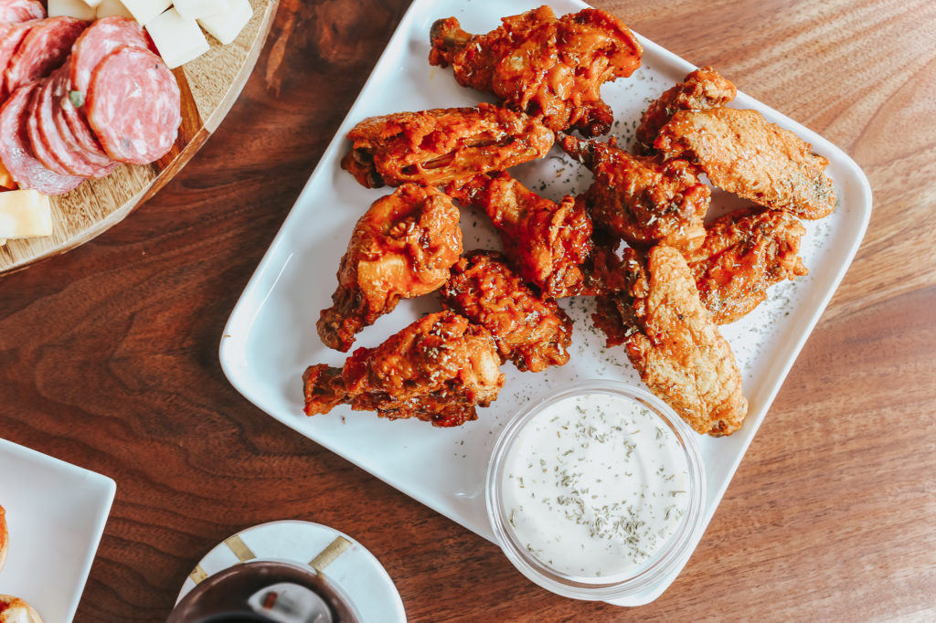 The Easiest Crispy Baked Wings